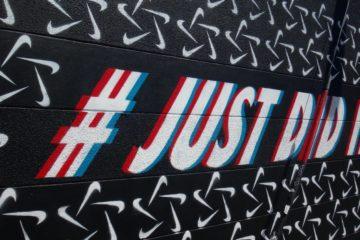 Hashtag Beispiel, Nike Slogan